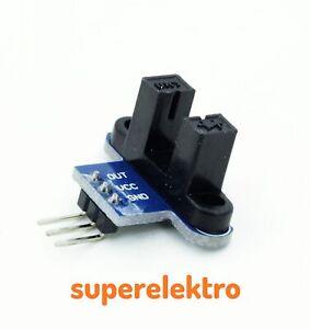 Gabellichtschranken-Modul Opto-Interrupter m. MOC70T3 Lichtschranke Unterbrecher