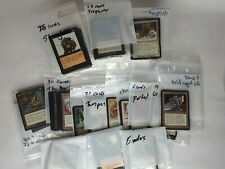 Magic: the Gathering 248 Cards - BLACK -  Mixed Lot 1994 to 2000 - LP TO NM