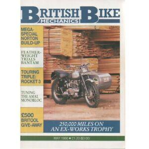 British Bike Mechanics Magazine May 1988 (025) ROCKET 3 AMAL MONOBLOC