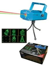 Christmas Themes 6 Mode Laser Light Lighting Projector Stage Show Party