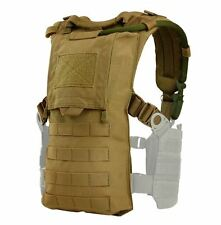 CONDOR MOLLE Modular Tactical Nylon HYDRO HARNESS vest 242-498 COYOTE BROWN