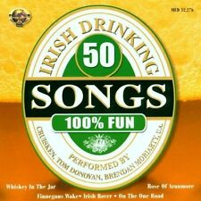 50 Irish Drinking Songs (2000) Cruisken, Tom Donovan, Brendan Moriarty.. [CD]