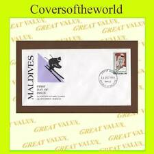 Olympics First Day Cover Asian Stamps