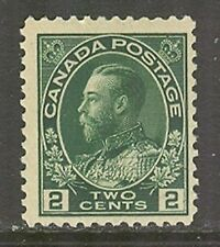 Canada #107, 1922 2c King George V - Admiral Issue, Unused Never Hinged