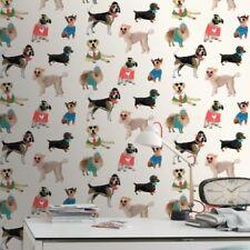 Rollos de papel pintado sólido color principal multicolor