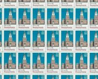 #2337 22 cent Pennsylvania Statehood full mint sheet of 50 MNH OG