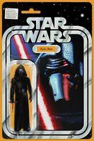 Star Wars The Force Awakens # 5 NM Kylo Ren Action Figure Variant IN HAND JTC