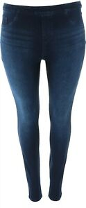 Spanx Jean-ish Ankle Length Leggings Tall Twilight Rinse 2X NEW A368566