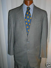 ERMENEGILDO ZEGNA SUPER 150s FINE HOUNDSTOOTH SUIT SIZE 40 L  From ITALY..!!