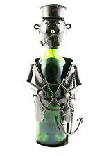 Wine Bodies Sailor Bearded Captain Metal Wine Bottle Holder