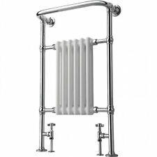 ENKI 963x583mm Traditional Bathroom Central Heated Towel Rail 6 Column Radiator