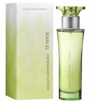 100ml Adolfo Dominguez Te Verde Eau de toilette 3.3 oz Perfume Mujer