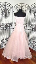 A1541  LAZARO 3741 SZ 12 PINK   FORMAL GOWN DRESS