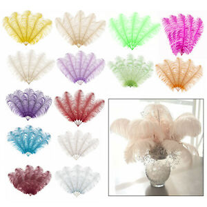 40cm or 60cm Large Ostrich Feathers Plume Craft Wedding Table Centrepieces Decor