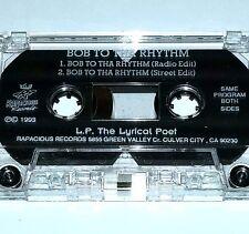 "LYRICAL POET Bob to Rhythm TAPE CASSETTE 1993 Rap G FUNK nwa 12"" 2pac wu tang lp"