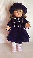 Mariquita Pérez conjunto abrigo morado (MP50218)