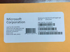 Microsoft Windows Server 2012 R2 Standard 64 bit OEM  + key w/ 5 CALS