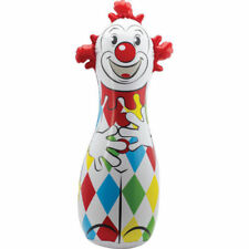 "Schylling 42"" CLOWN BOP BAG Inflatable Boxing Punching Toy Classic NEW! - SALE!"