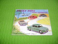 DINKY TOYS ET DINKY SUPERTOYS CATALOGUE 1957