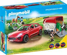 """PLAYMOBIL®  9376  """" Porsche Macan GTS mit Pferdeanhänger """",  NEU & OVP"""