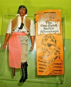 Vintage 1973 Lesney Matchbox Fighting Furies Captain Peg Leg Figure Doll Compete