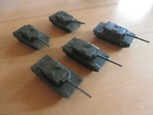 ~*~5 x Roco/Roskopf - Kampfpanzer Leopard II 1/100 ~*~