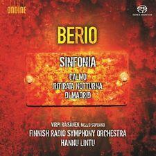Berio / Raisanen / L - Sinfonia Calmo & Ritirata Notturna Di Madrid [New SACD]