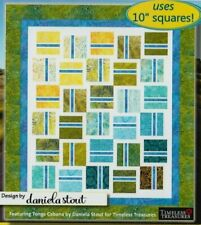 """Fast Lane - pieced quilt PATTERN for 10"""" squares - Cozy Quilts - 6 sizes"""