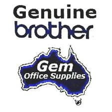 GENUINE BROTHER HSE-221 BLACK ON WHITE 8.8mm x 1.5m HEAT SHRINK TUBE CARTRIDGE
