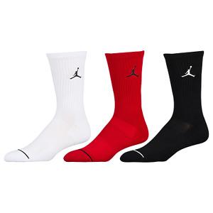 Nike Air Jordan Jumpman EVERYDAY MAX DRI-FIT Crew Socks 3 Pack Men Size: 8-12