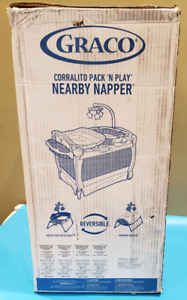 GRACO NEARBY NAPPER PACK-N-PLAY SEAT PLAYARD REVERSIBLE DAVIS