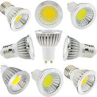 Dimmable Cree LED Spotlight COB Epistar Bulb E12 E27 GU10 MR16 Lamp 9W 12W 15W