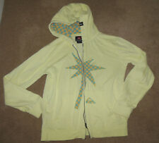 Boy Quiksilver summer fleece hoodie jacket size 11-12 y hoody