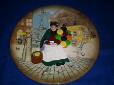"The Old Balloon Seller 10"" Plate Circa 1979 Royal Doulton D6649"