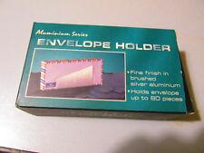 Envelope holder Alluminio Series - Porta buste da ufficio alluminio nuovo