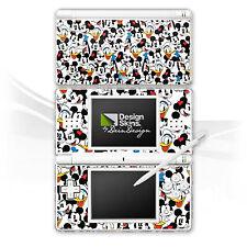 Nintendo DS Lite Folie Aufkleber Skin - Mickey and friends pattern