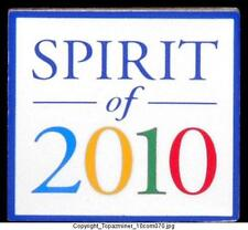 OLYMPIC PIN 2010 VANCOUVER CANADA SPIRIT OF 2010 NICE