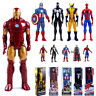 "12"" Superhero Action Figure X-man Spider-Man Iron Man Thor Collection Toy US"