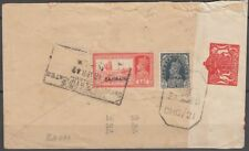 1942 Censored Cover Bahrain to India, with slogan cancel [bl0294]