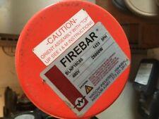 WATLOW FIREBAR BLNF18C5S 20000 btu IMMERSION HEATER 480volt