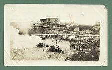 JUNE 1926 B/W PHOTOGRAPH FIRING SALUTE ON KING'S BIRTHDAY KHAIRA GALI PAKISTAN