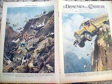 19) 1939 INCIDENTE IN TRENTINO E A GRAGNANO DI NAPOLI DOMENICA DEL CORRIERE