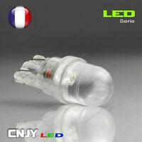 2 AMPOULE BIG LED T10 CONVEXE CULOT W5W W3W W2,1x9.5D 194 501 BLANC XENON 60°12V