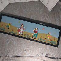 Vintage Margaret Bloom Goodrow Raggedy Ann Painting creepy scary clowns
