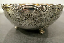 Tiffany & Co. Sterling Silver Art Deco Fruit Bowl 1927 NYC.