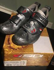 Sidi Women's T2 Carbon Tri Cycling Shoe, Silver/Snake, EU 38.5, US Women's 6.75