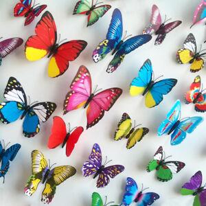 Mixed colours Decoration Butterflies Home Decoration/Crafts/Parties