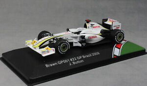 CMR Brawn GP001 Brazilian Grand Prix 2009 Jenson Button CMR43F1002 1/43 NEW