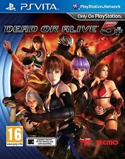 Dead or Alive 5 Plus (Playstation Vita) BRAND NEW SEALED