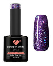 856 VB™ Line Alluring Purple Glitter - UV/LED soak off gel nail polish